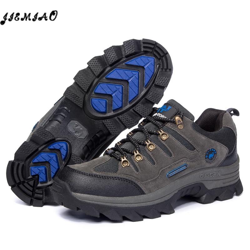 Men Hiking Shoes Hunting Trekking Mountain Climbing Shoes Outdoor Trekking Couple Sport Shoes Men Boots Trekking Sneaker