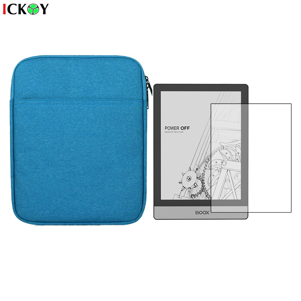 Portable Sleeve Protective Case Bag Briefcase   LCD Screen Protector Shield Film for ONYX BOOX Poke2 Accessories