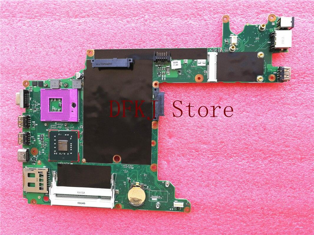 لوحة أم للكمبيوتر المحمول 504446-001 لسلسلة HP 2230S GM45 لوحة رئيسية 100% تم اختبارها تشحن مجاني