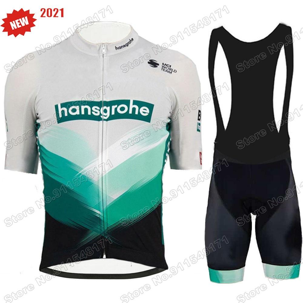 2021 Boraful Hansgohe Ciclismo Jersey conjunto verano equipo de Ciclismo profesional bicicleta...
