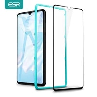 esr screen protector for huawei mate30 mate20 mate10 pro v20 v30 pro for huawei p40 p30 p20 pro p10 tempered glass anti blue ray