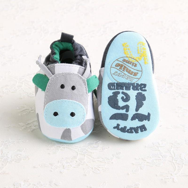 Dos desenhos animados solas macias sapatos de berço do bebê meninas menino primeiros caminhantes infantil da criança sapatos de chinelo calçados para recém-nascidos sapatos de bebê