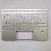 new original for hp envy 13 13 aq 13 aq0007tx tpn w144 laptop palmrest upper case us keyboard gold