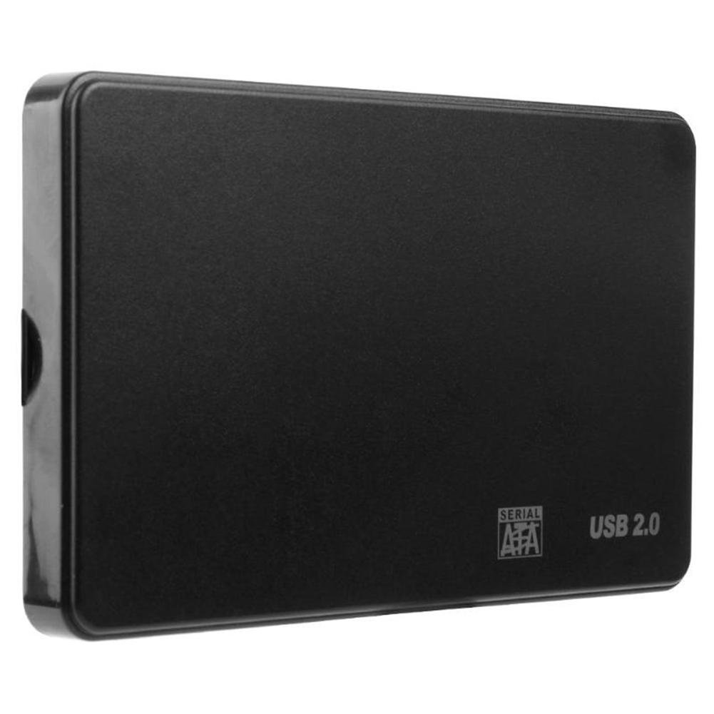 Portable External Hard Case Drive USB 2.0 2.5inch SATA HDD SSD External Hard Disk Case for PC Laptop