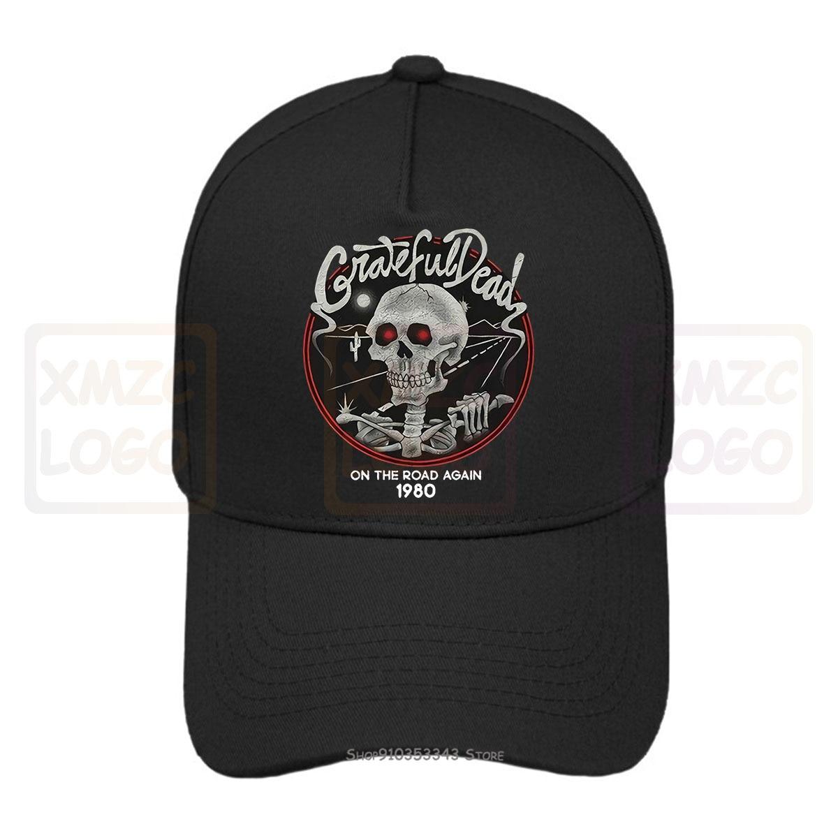 Nueva gorra de béisbol Grateful Dead en el mapa de nuevo 1980 gorra de béisbol sombreros mujeres hombres