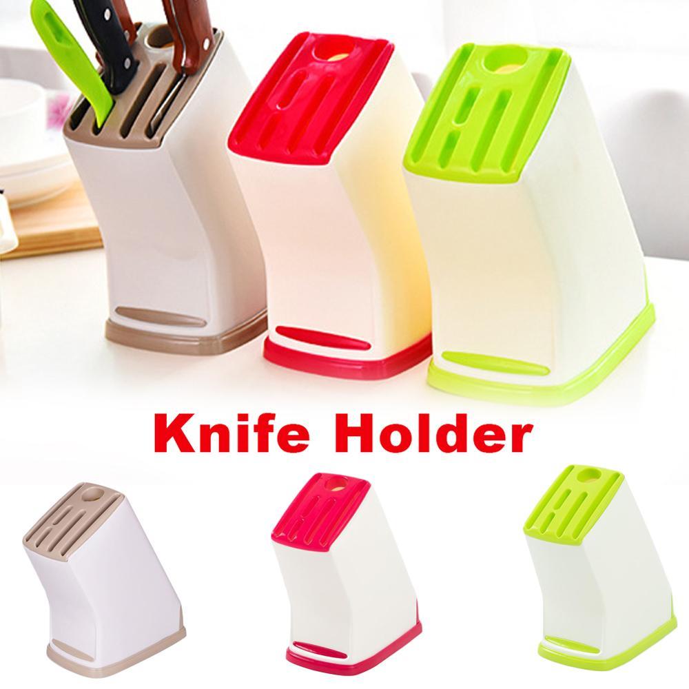 Набор кухонных ножей, набор ножниц, органайзер для кухонной утвари, 6 отделений