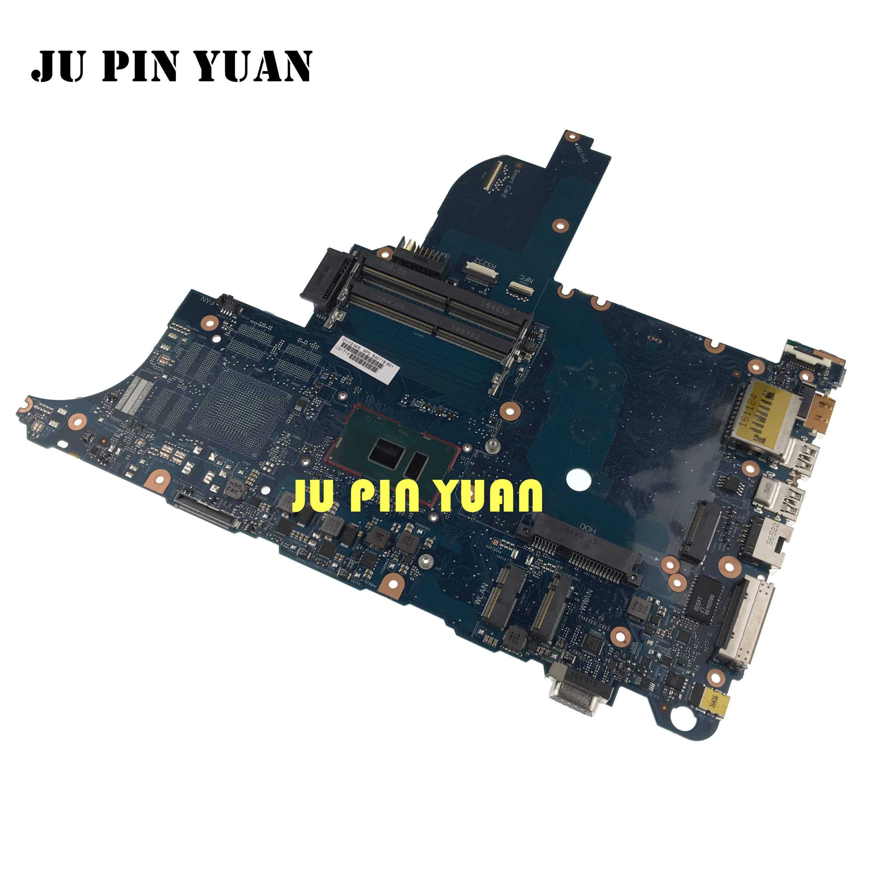 840716-601 840716-001 Para HP Elitebook 640 650 I5-6200U 6050A2723701-MB-A02 G2 Laptop motherboard 100% totalmente Testado