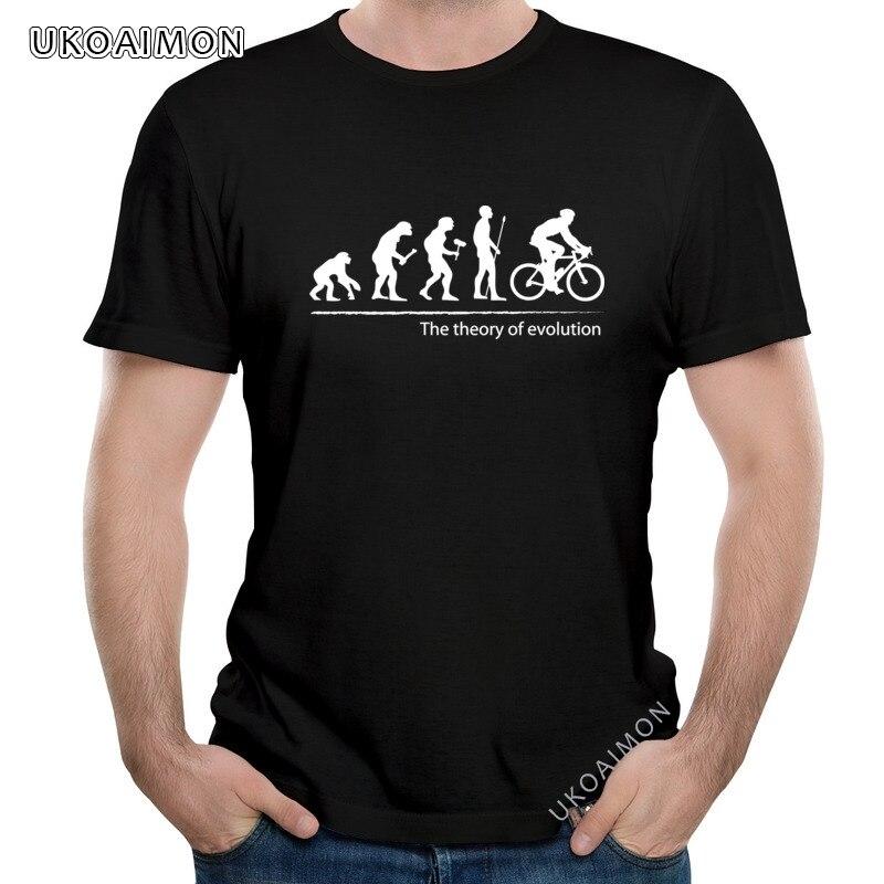 Hot Sale Evolution Bicycle Personalized Cotton T Shirt Round Neck Fashion T-Shirt Short Sleeve Newest TShirts Unisex