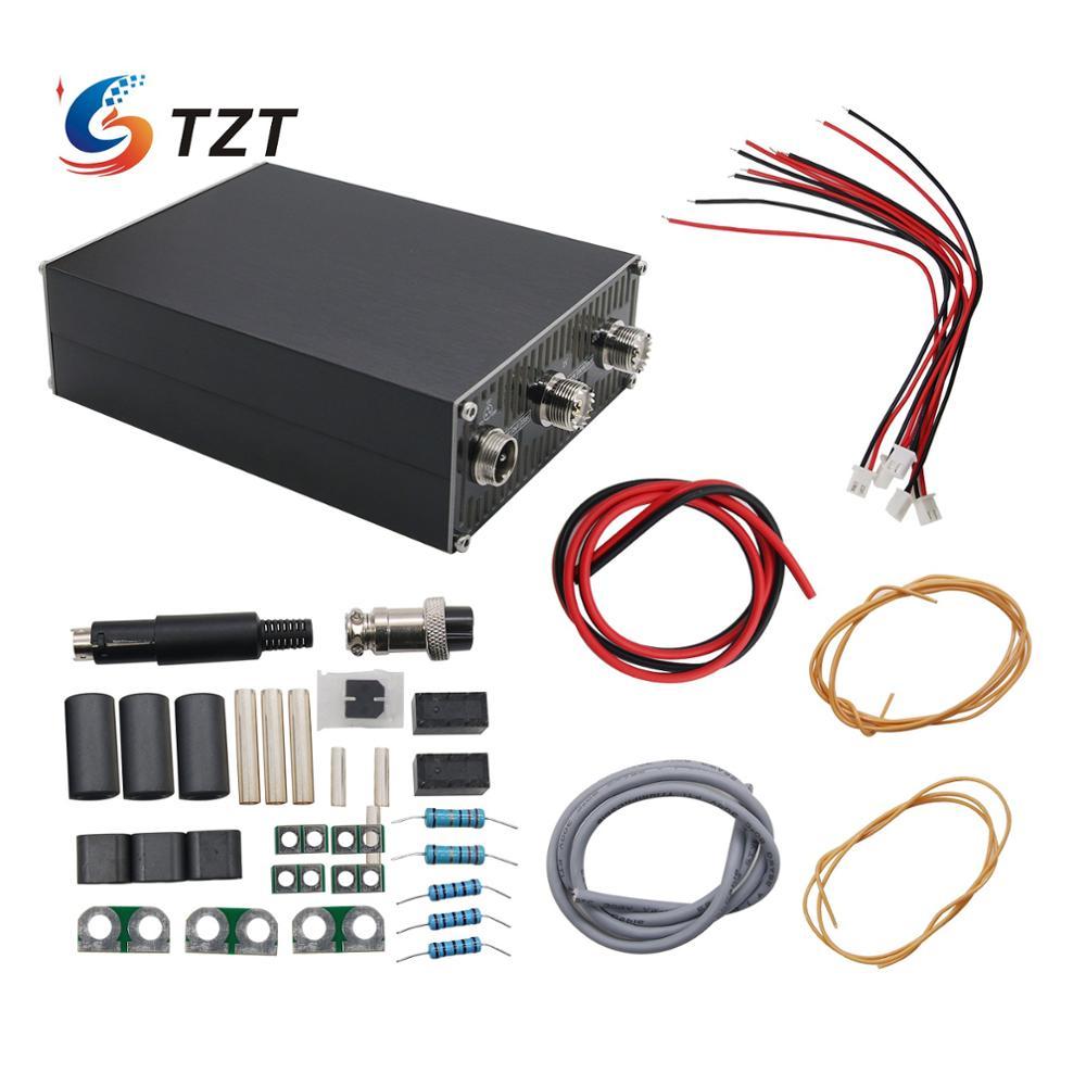Tzt mini 200 w hf amplificador de potência de ondas curtas amplificador de potência montagem necessária