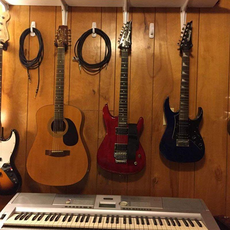 Guitar Hanger Holder Hook Wall Mount for Electric Acoustic Guitars,Strings for guitar pick guitar picks guitar stand enlarge