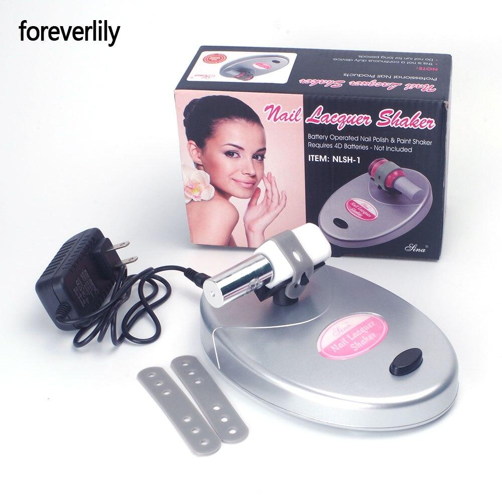 Шейкер для ногтей foreverlily, регулируемый Гель-лак для ногтей, бутылка, встряхиватель, инструменты для нейл-арта, тату