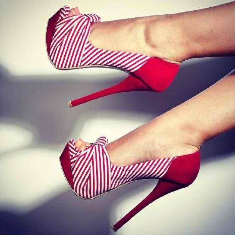 FGHGF الأحذية ، جميلة الموضة الحرة ، القوس الديكور ، حوالي 15 سنتيمتر أحذية بكعب عالية ، اللمحة تو مضخات ، مأدبة الأحذية