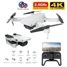 Drone GPS 4k HD double caméra sans brosse quadrirotor 5G WiFI Drone GPS intelligent suivre Selfie Dron Rc hélicoptère professionnel Drone jouet