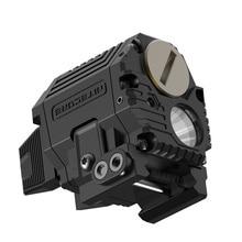 2021 NITECORE NPL10 CREE XP-G2 S3 LED Weapon Light 1x CR2 Tactical Flashligh Universal Subcompact Re