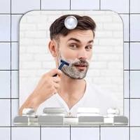 square anti fog and drop proof bathroom mirror hanging razor toothbrush and anti fog mirror fogless shower