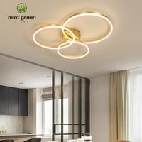home modern led ceiling light for room lamps for living room lights gold coffee smart led lights fixtures