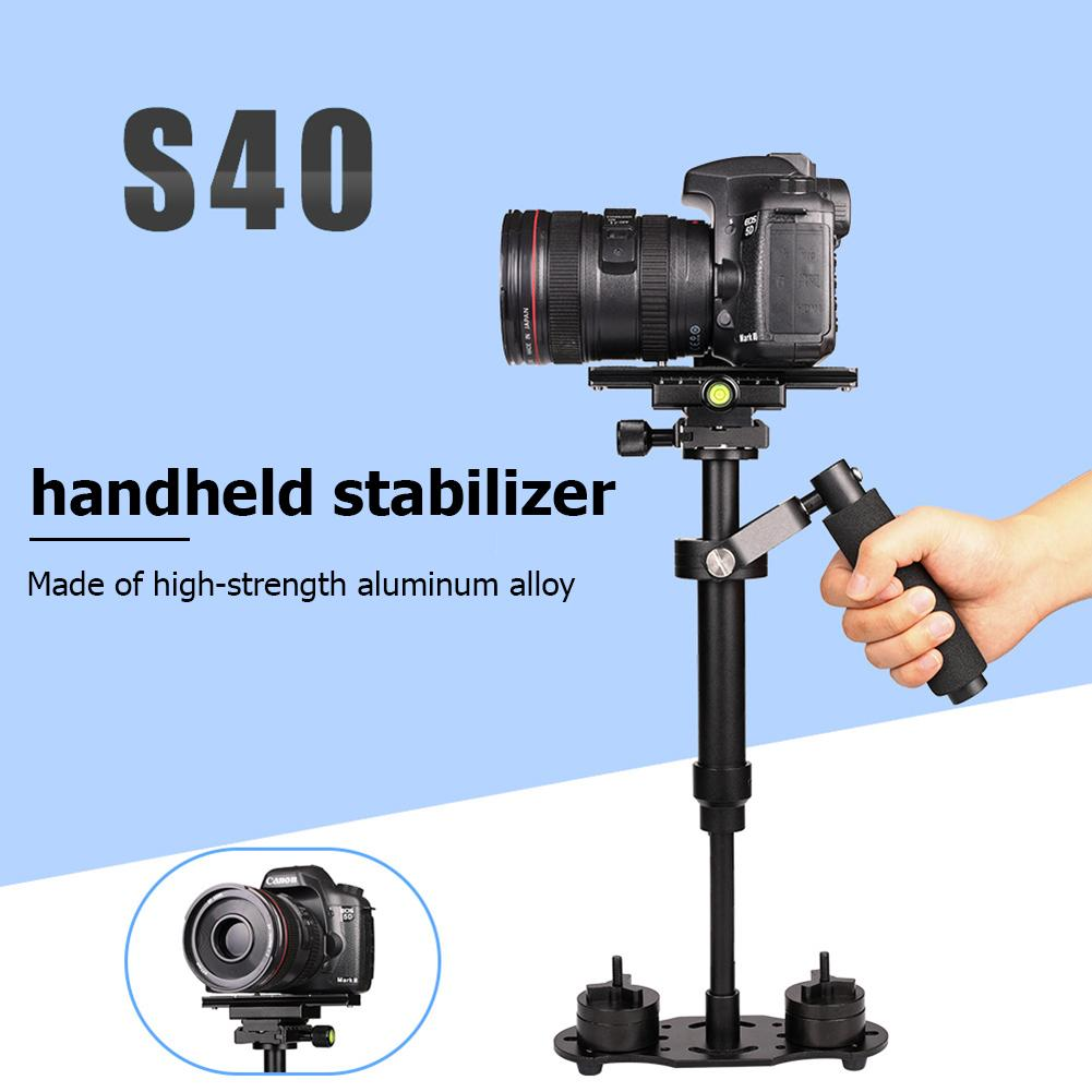 S40 Handheld Stabilizer 40cm Aluminum Alloy Photography Video  Stabilizer For Steadycam DSLR Steadicam DSLR Camera Camcorder