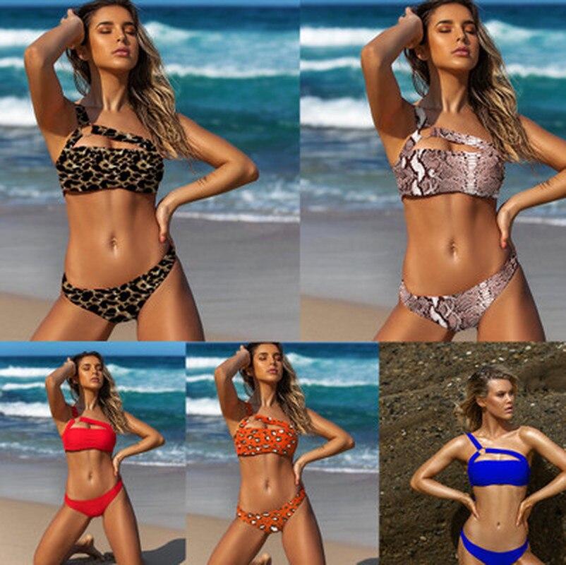 Bikini De secado rápido para Mujer, bañador Sexy, traje De baño para Mujer, Push-Up, Sujetador