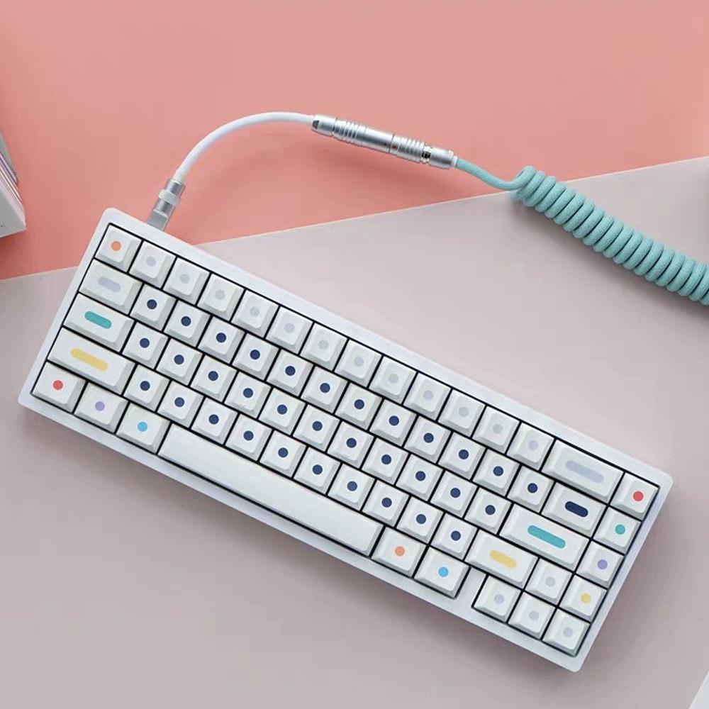 120 مفاتيح/مجموعة النقاط أغطية المفاتيح الكرز الشخصي PBT مفتاح قبعات ل MX التبديل الميكانيكية لوحة المفاتيح صبغ التسامي مفتاح غطاء