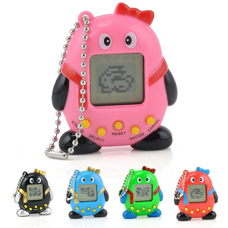 5 Style Virtual Pets In One Penguin Electronic Digital Machine Pet Kids Gift Toy Game Player Random