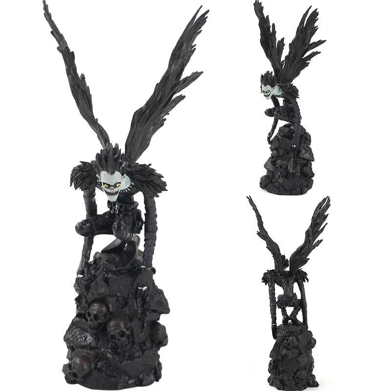 28cm la nota de muerte oficial película guía Deathnote Ryuuku Ryuk PVC figura de acción de figuritas coleccionables modelo de juguete regalos