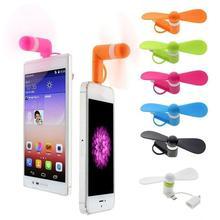 3 en 1 voyage Portable téléphone Portable Mini ventilateur refroidissement C pour Micro pour Type pour iPhone C refroidisseur USB J5O4