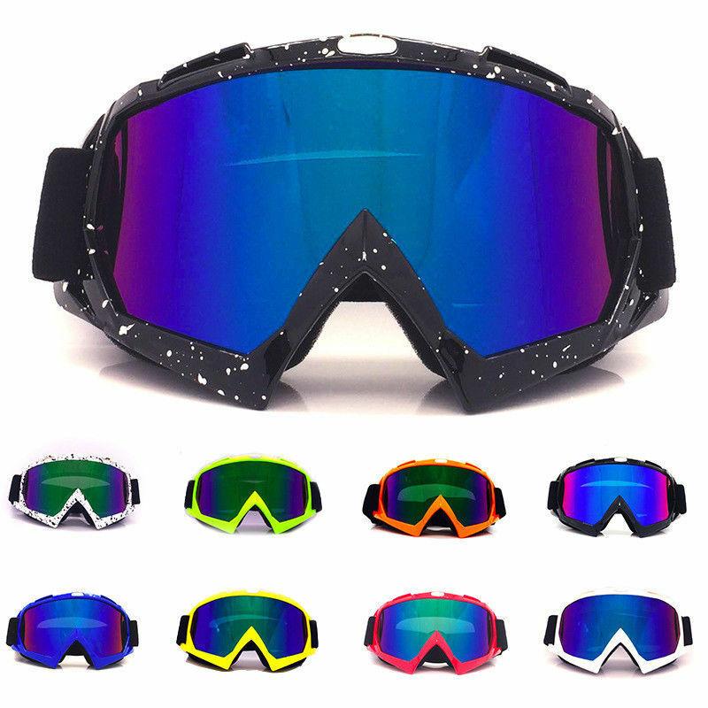 Лыжные очки унисекс, маска для сноуборда, зимние солнцезащитные очки для снегохода, мотокросса, ветрозащитные зимние спортивные очки с УФ-з...