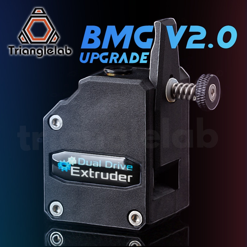 trianglelab NEW BMG Extruder V2.0 Bowden Extruder Cloned Btech Dual Drive Extruder For 3d printer Ender3 CR10  TEVO MK8