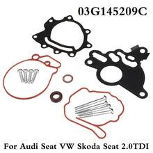 Kit de réparation de pompe Tandem   Pompe à vide à carburant, Kit de joint pour Audi Seat pour VW pour Skoda Seat 2.0TDI 03G145209C