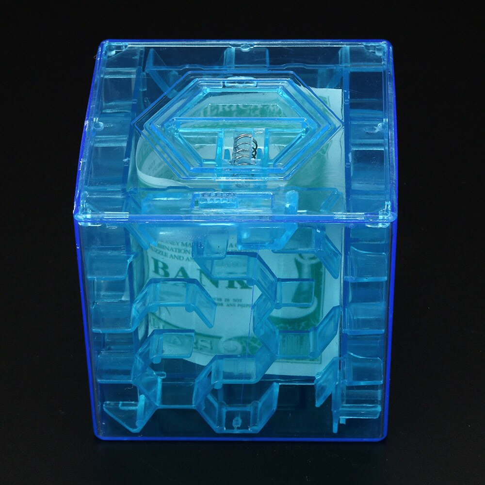 3D куб пазл игрушки копилка Коллекция Чехол Коробка забавная мини-игра для мозгов образование хобби развитие игрушки для мозгов
