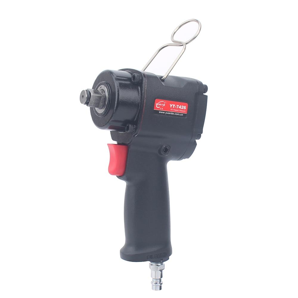 1/2 12.7mm mini chave de impacto pneumática mini chave de reparação automática chaves chave de impacto único martelo 450n.m