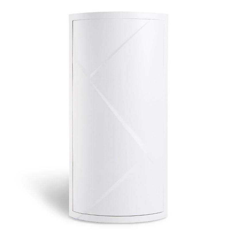 الحمام 360 درجة الدورية مثلث الجرف المطبخ المرحاض الجرف رف زاوية رف تخزين للحمام خزانة متعددة الطبقات التخزين