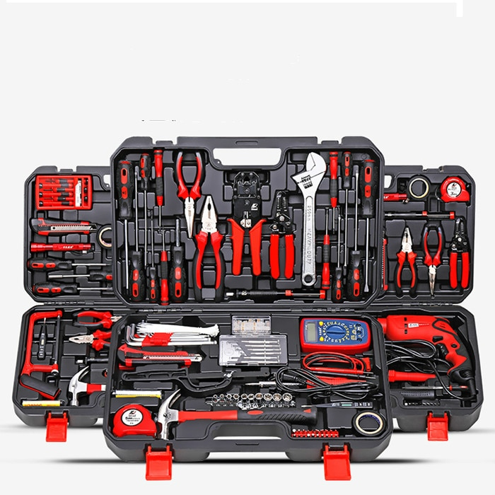 Professional Multifunction Tool Box Organizer Safety Set Waterproof Equipment Tool Box Caisse A Outil Tools Packaging DB60GJ