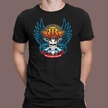Blade Runner Radio film rétro Logo noir T-Shirt taille S M L Xl 2Xl 3Xl Harajuku T-Shirt