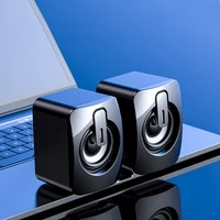 computer speaker wired speakers stereo sound surround loudspeaker for laptop notebook bluetooth compatible or wired loudspeaker