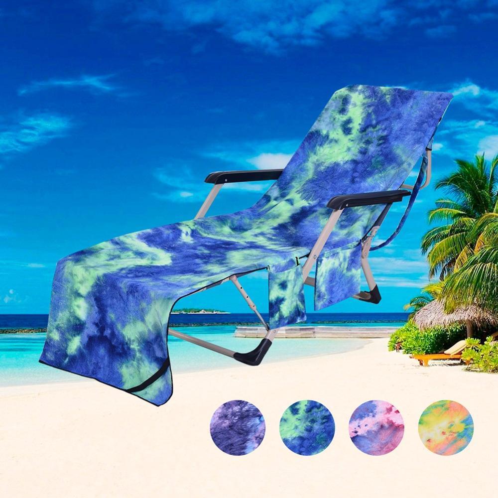 Gran oferta Toalla de playa mágica de microfibra de onda de mar azul Toalla de playa para adultos cubierta de silla de cubierta Toalla de playa teñida Lisa variedad de toallas de baño