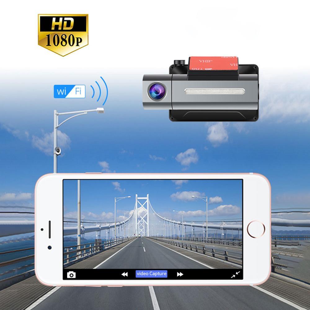 1080P FHD Dash cam 3G coche DVR con GPS Android registro Dual lente Dash cámara para coche con WiFi cámara de vídeo Secretario grabadora de disco