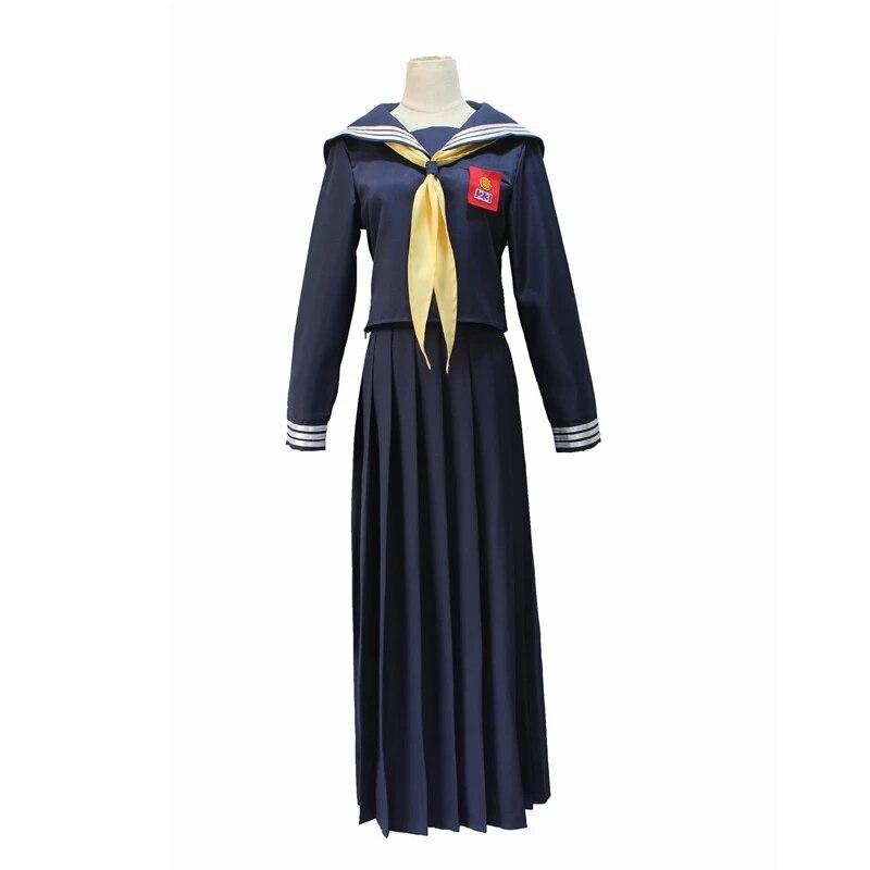 Disfraz de que mi gran hermano Dahaokawa Kyoko Japonesa uniforme de Escuela......