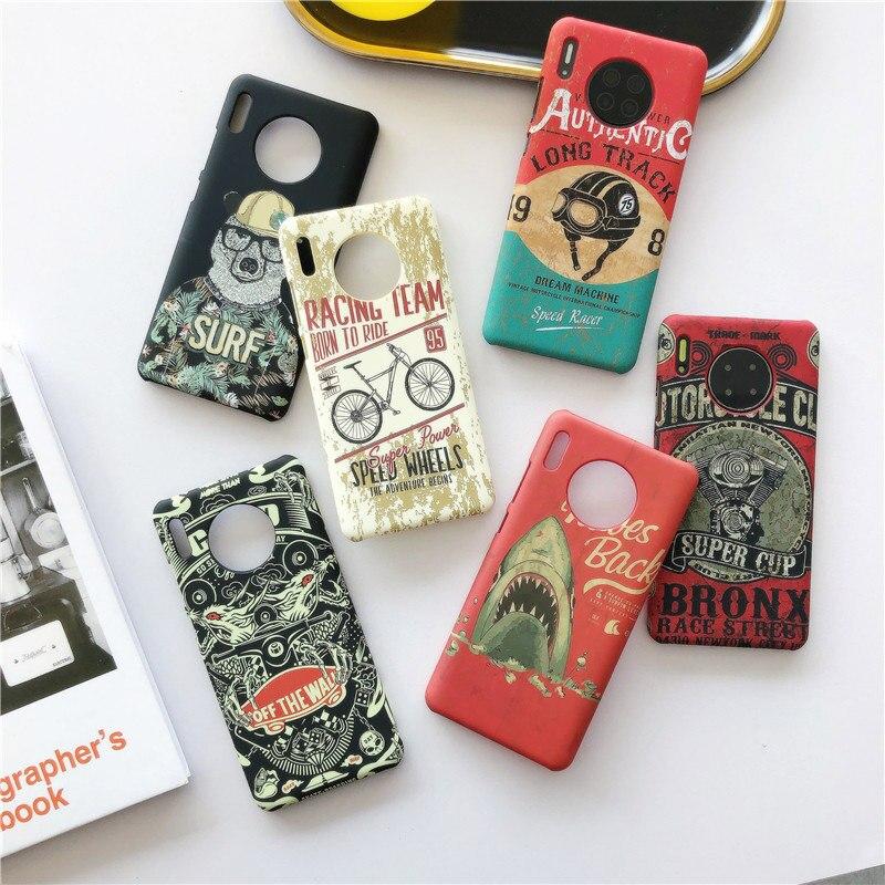 Fuuny Graffiti Phone Case For Huawei P20 Lite P30 Pro Mate 30 20 Nova 3 5 4 For Honor 20 10 v20 V10 7X 8X 9X Cover Hard Cases