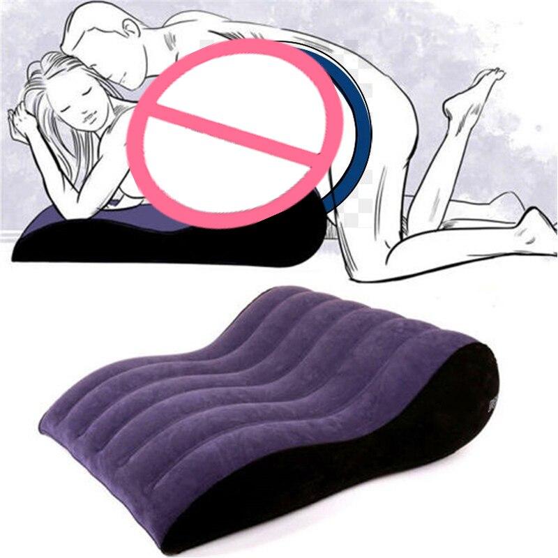 Надувная подушка для тела, квадратная подушка с клиновидным клином для секса, для любовных позиций, воздушная подушка, Эротическая мебель д...