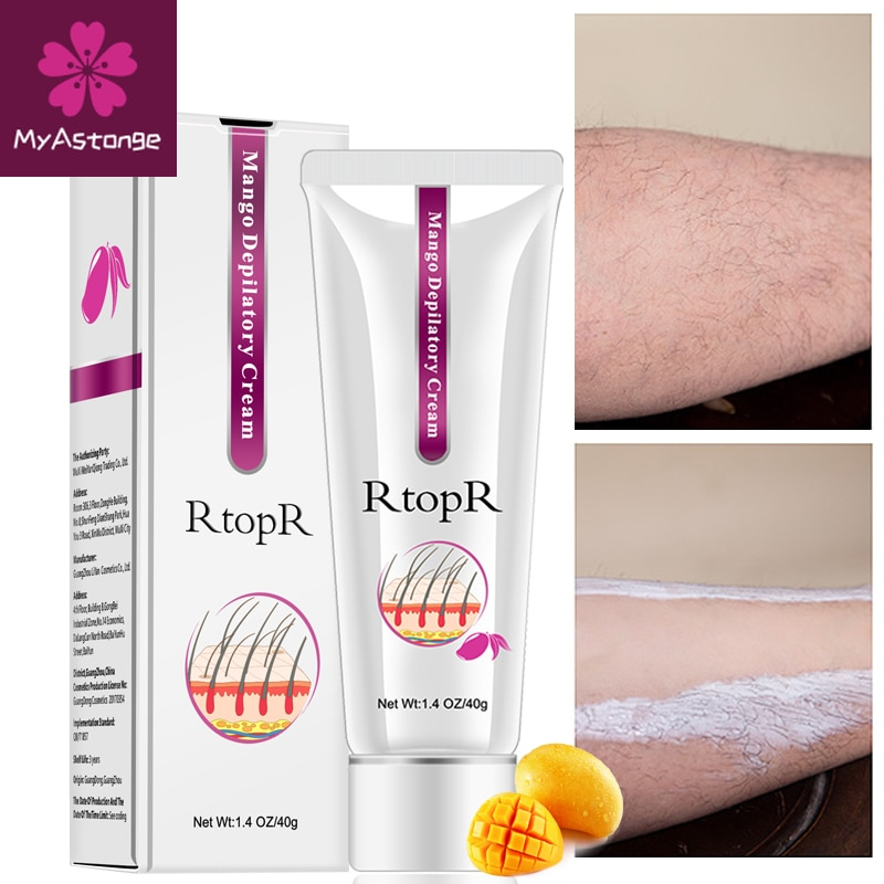 Mango Depilatory Cream Body Painless Effective Hair Removal for Men and Women Whitening Hand Leg Armpit Loss Product