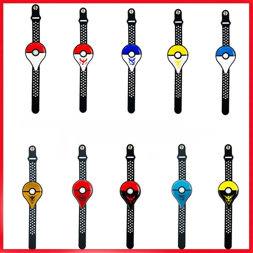 1Auto Catch Smart Bracelet For Pokemon Go Plus Game Auxiliary Equipment Fantasy Automatic Capturer Smart Bracelet For Kids