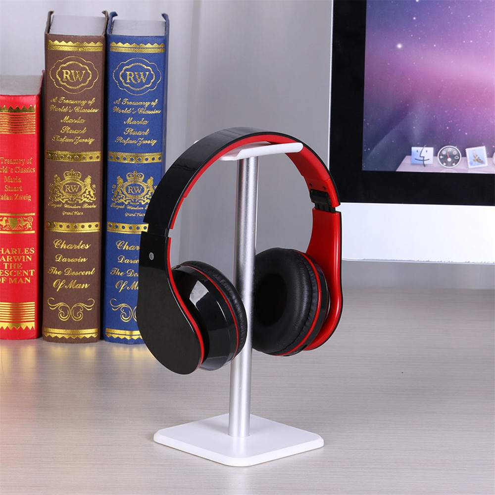 Popular Headphone Holder Aluminum Earphone Gaming Headset Desktop Display Stand Bracket Rack Hanger 230x110x25mm enlarge