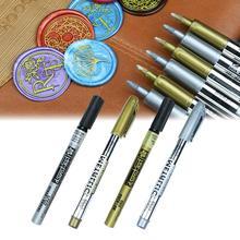 Огненная Краска Печать Специальные ручки граффити воск штамп маркеры винтажные восковые цветные ручки