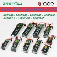 Литий-полимерный аккумулятор Gens ACE 2-3S 7,4 В-11,1 В 800 мАч 1300 мАч 1800 мАч 2200 мАч 3300 мАч 4000 мАч 5300 мАч с разъемом T/XT60