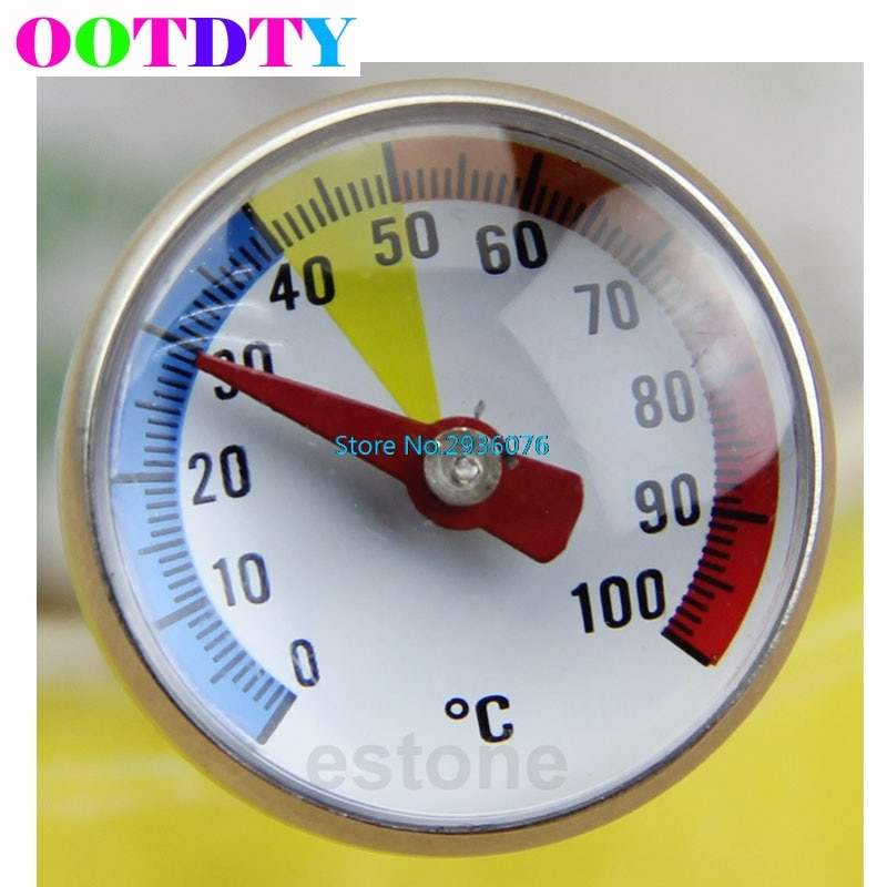 Termómetros para leche en polvo y alimentos, lectura instantánea, de acero inoxidable, sonda especial para leche en polvo, termómetro de temperatura MY8_10