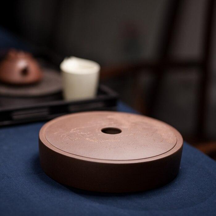 Yixing-شاي قديم من البولي يوريثان الحراري ، وعاء من الطين الأرجواني ، يمكن وضع كعكة الشاي pu 'er