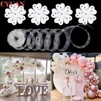 balloon arch decoration balloon chain wedding balloon garland birthday baby shower background decoration balloon accessories