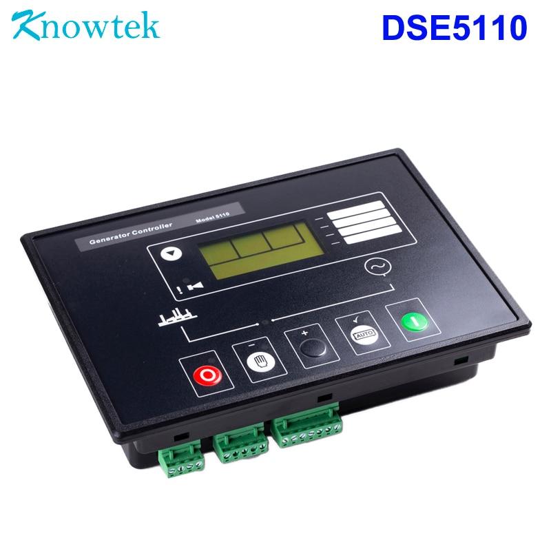 Generator Controller DSE5110 Auto start replacement Original DSE 5110 for  Genset control panel