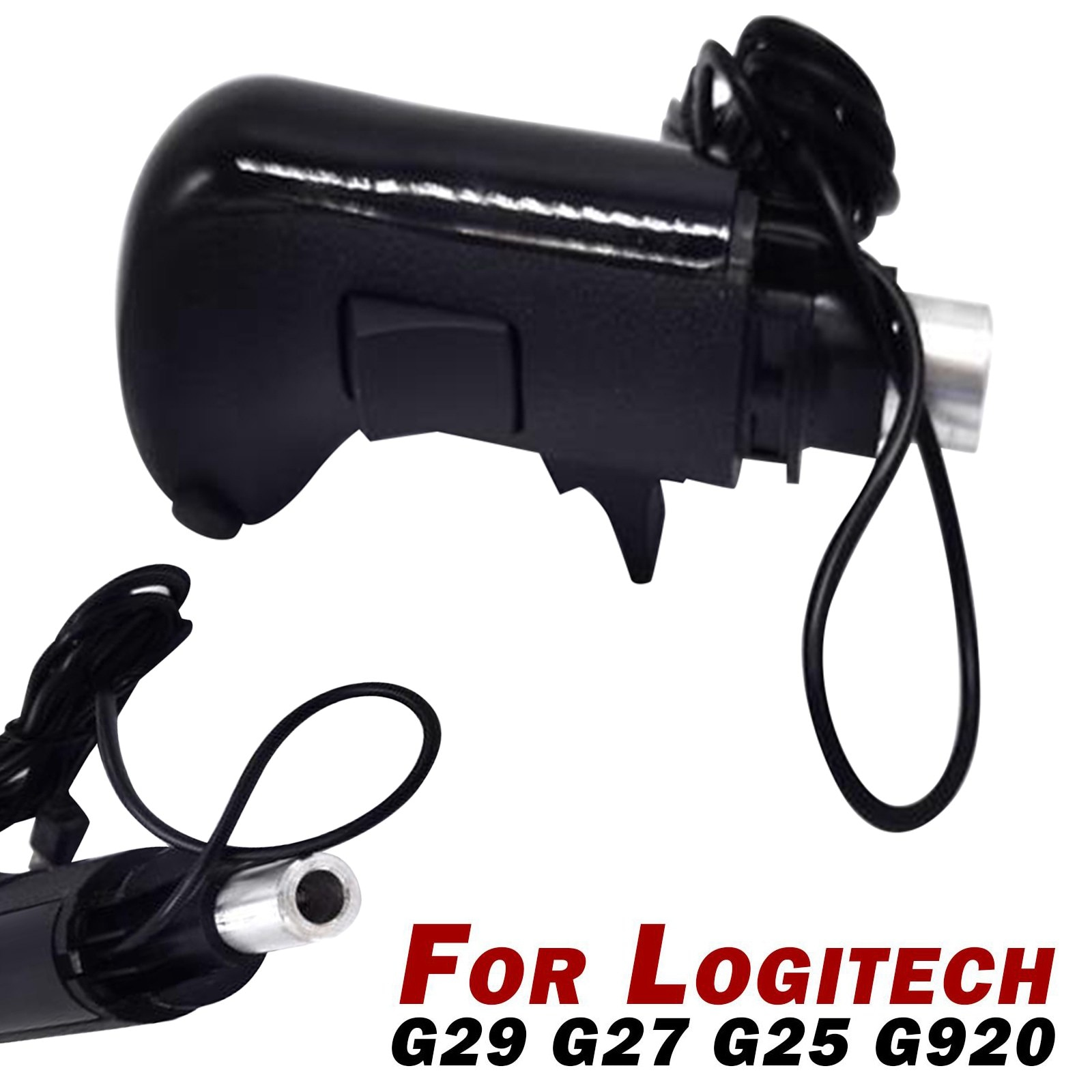 For ATS ETS2 Logitech G29 G27 G25 G920 H THRUSTMASTER TH8A USB Gearshift Knob High and low gear